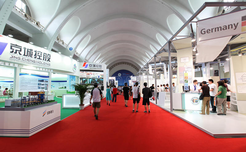 Download Exhibitors/booths In Beijing, China Editorial Photo - Image: 14734281