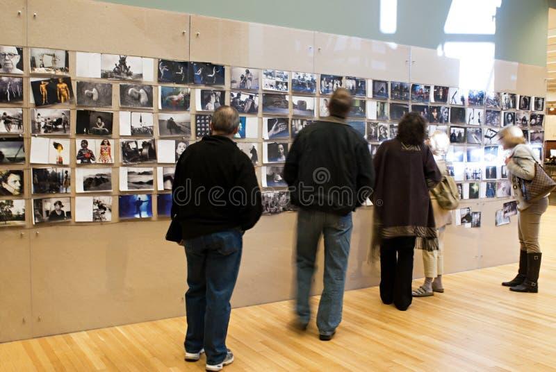 Exibição da entrada de Annie Leibovitz imagem de stock