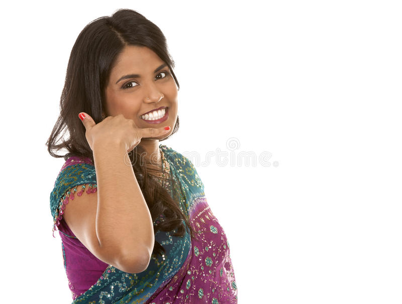 Mulher indiana imagens de stock