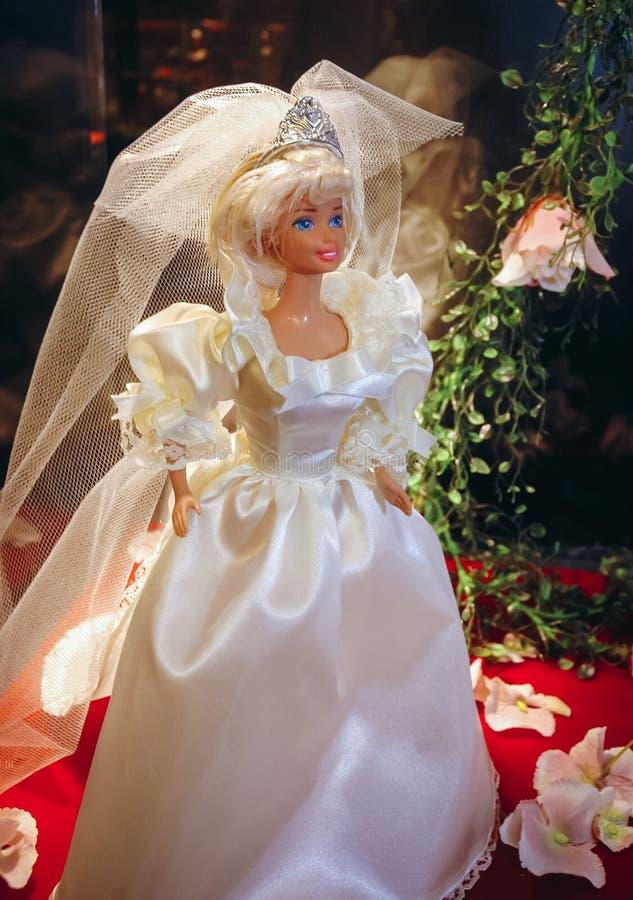 Exibi??o da boneca de Barbie fotos de stock royalty free