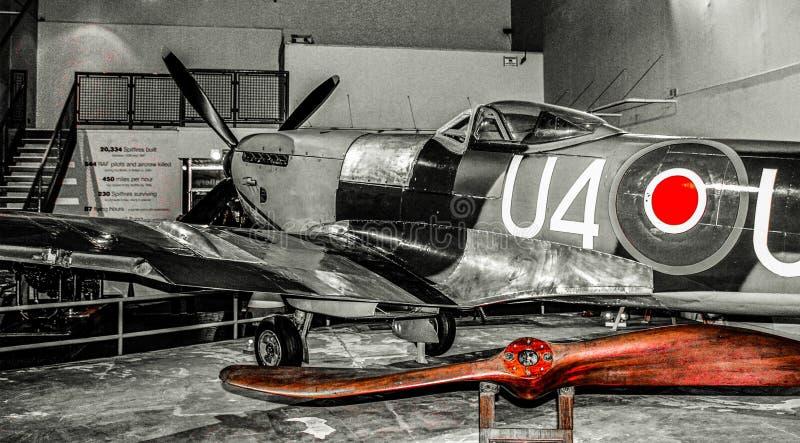 Exibit Spitfire стоковое изображение