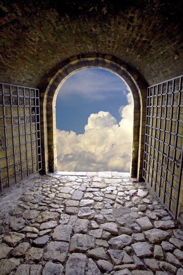 Download Exit stock image. Image of exit, hall, brick, underground - 21700823