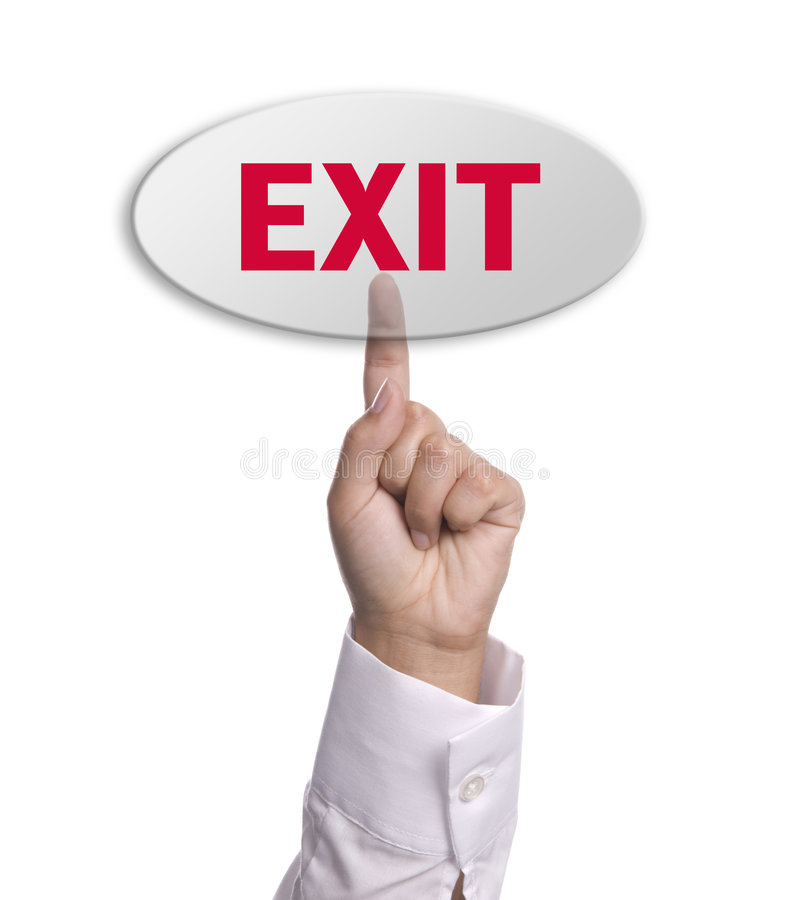 Download Exit Royalty Free Stock Photos - Image: 3183838