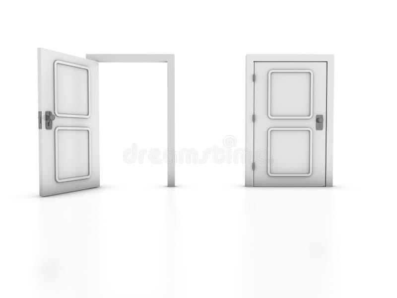 Exit vector illustration