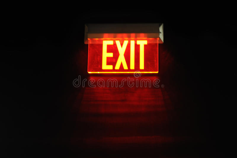 Exit From The Dark Stock Photography