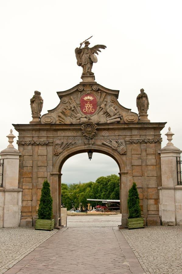 Free Exit Gate At Jasna Gora Monastery, Poland Stock Image - 16641181