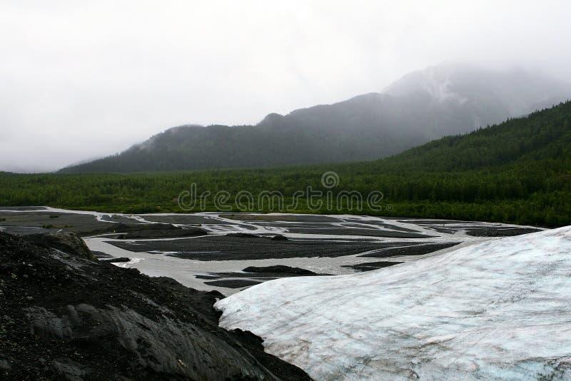 Exit Glacier, Kenai Fjords National Park, Seward, Alaska stock photos