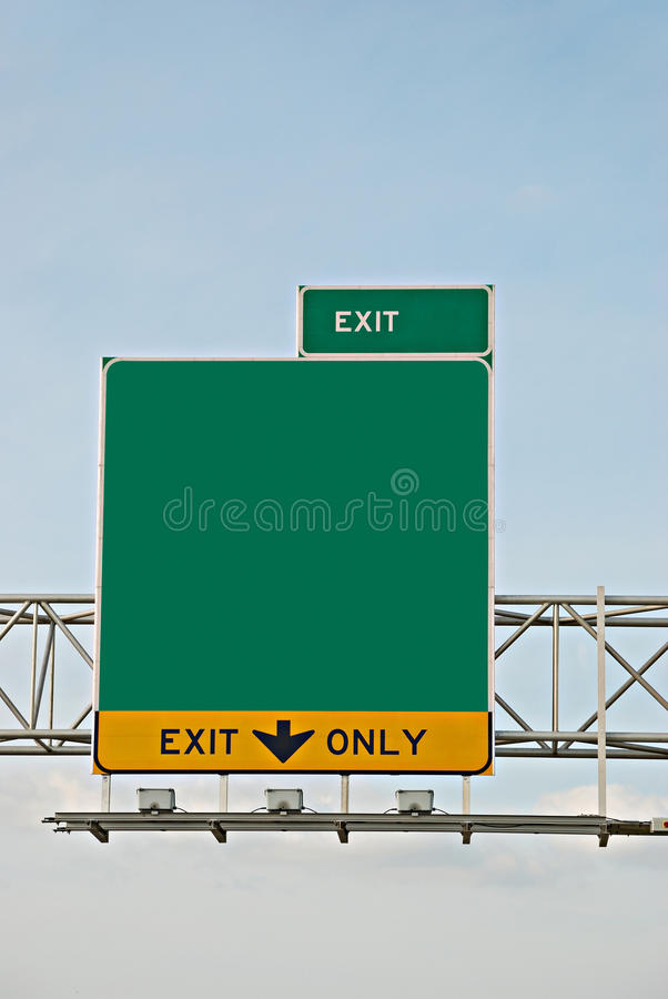 Download Exit information stock image. Image of motorists, background - 9396991