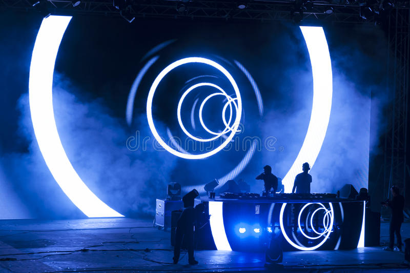 Exit music festival 2013 Dance Arena royalty free stock photos