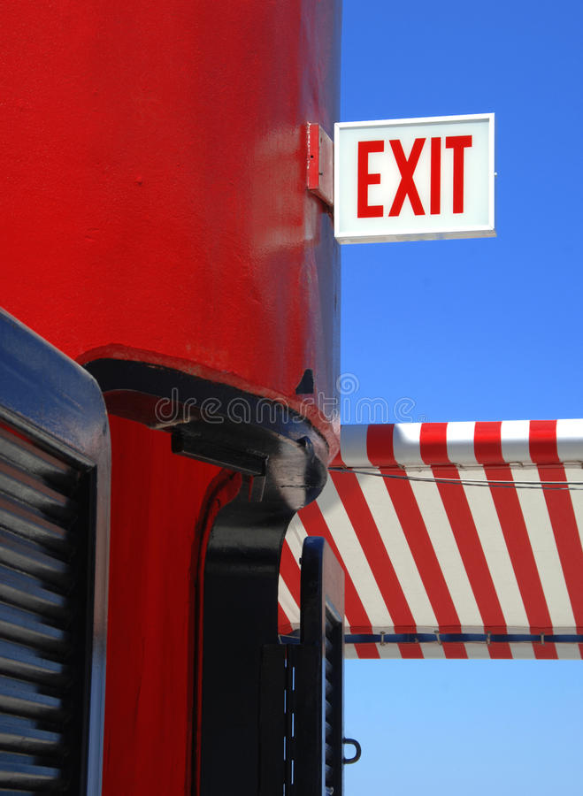 Download Exit Sign stock photo. Image of architecture, building - 9629722