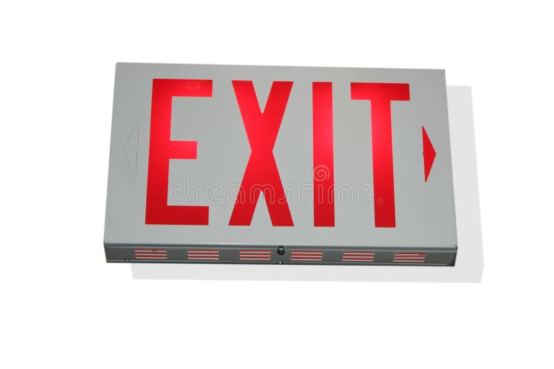 Download Exit to the right stock photo. Image of leaving, light - 198796