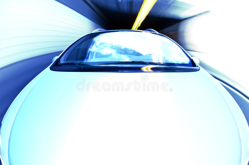 Download Exiting A Tunnel At High Speed Stock Photo - Image: 4751404