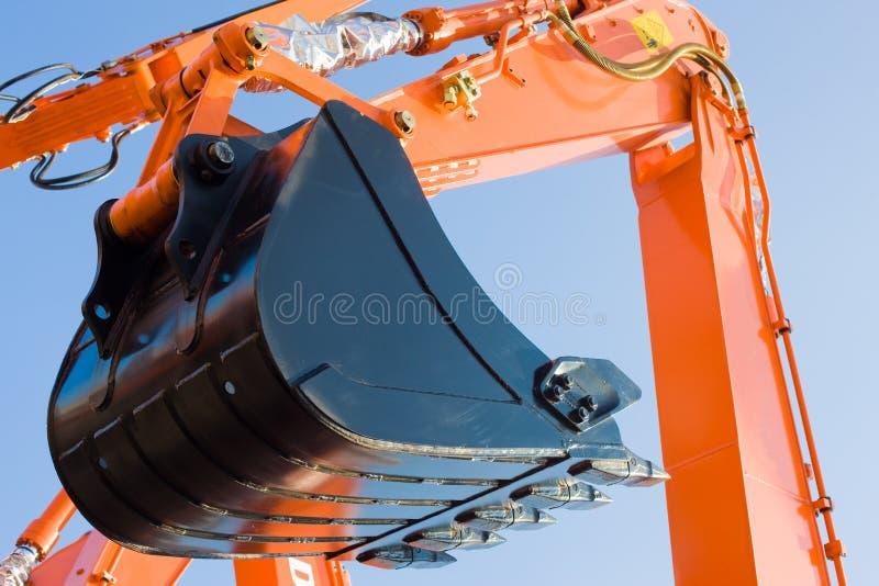 Exkavator stockbilder