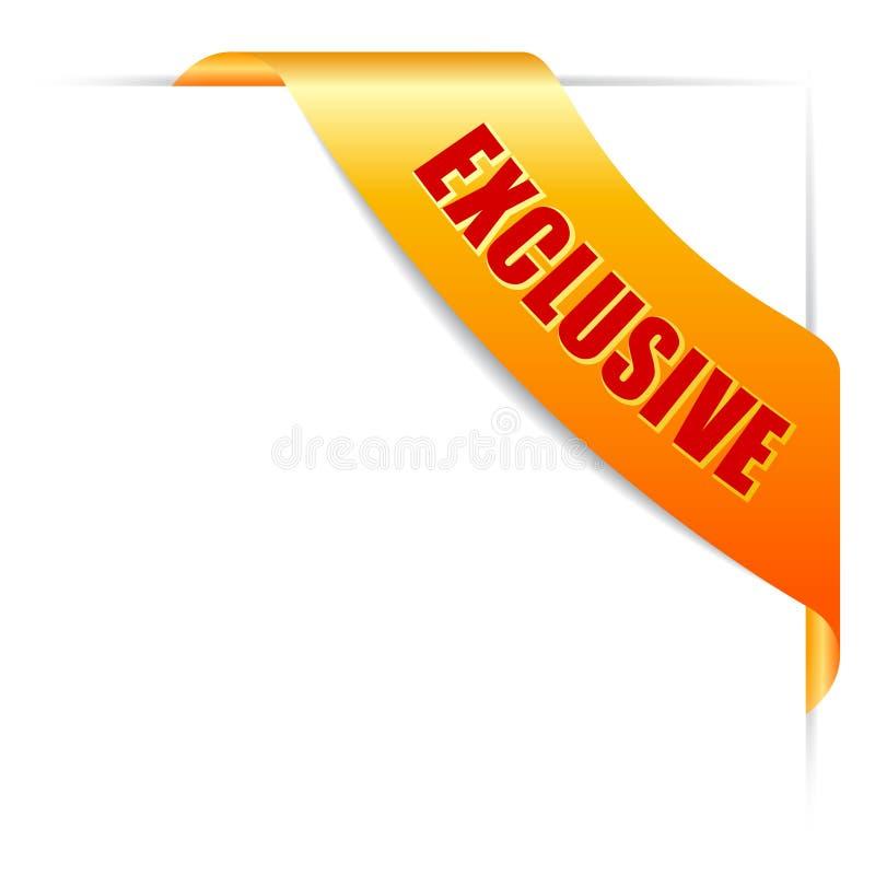 Exklusivt erbjudandeband royaltyfri illustrationer