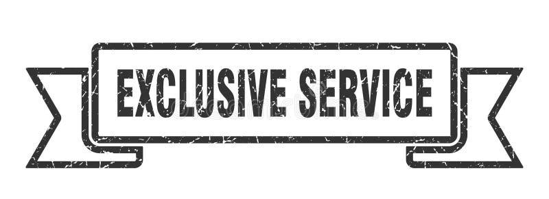 exklusivt serviceband vektor illustrationer