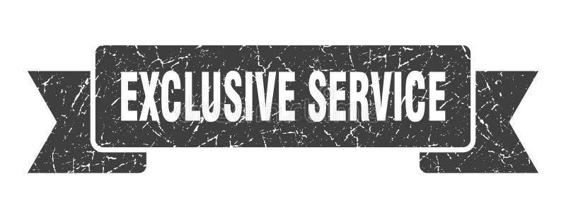 exklusivt serviceband stock illustrationer
