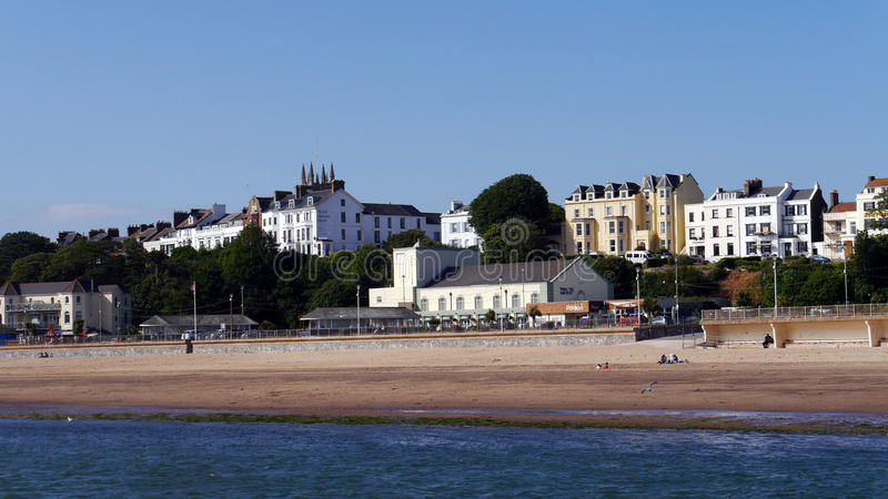 Download Exmouth Devon photographie éditorial. Image du seafront - 56490877