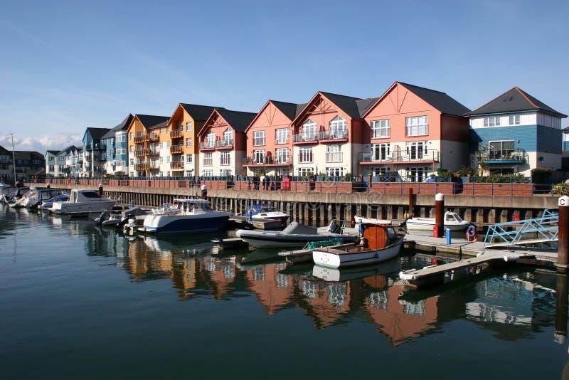 Exmouth marina royalty free stock photography