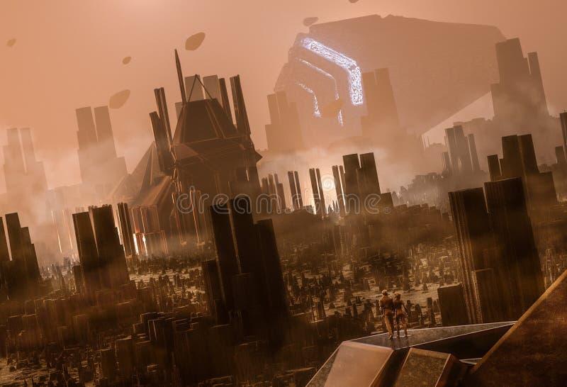 exodus ilustracja wektor