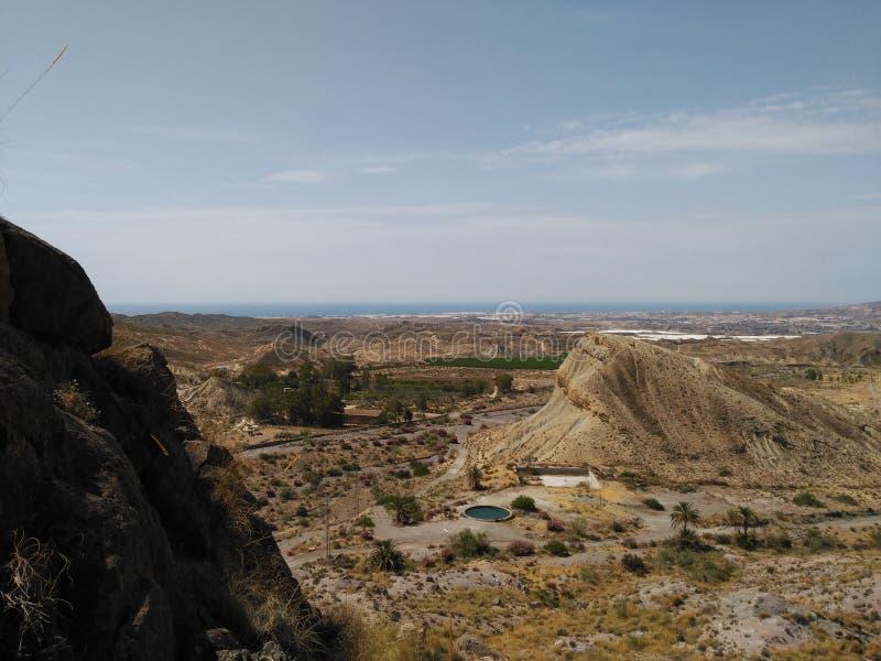 Exodus decorateds w Almeria zdjęcia royalty free