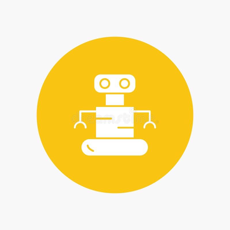 Exoskeleton, Robot, Ruimte royalty-vrije illustratie