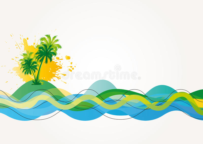 Download Exotic background stock vector. Illustration of sunlight - 24378249