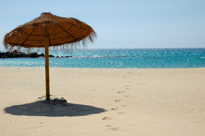 Exotic beach royalty free stock image