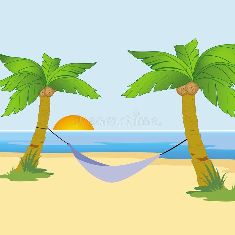 Free Exotic Beach At Sunrise Stock Photos - 17799143