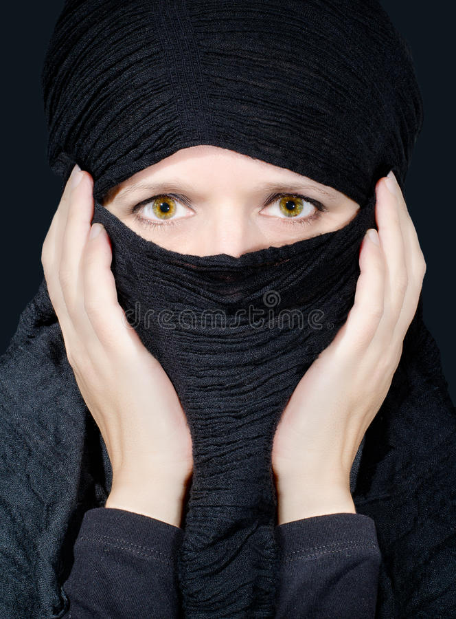 Download Exotic beauty stock photo. Image of closeup, lady, covered - 22851844