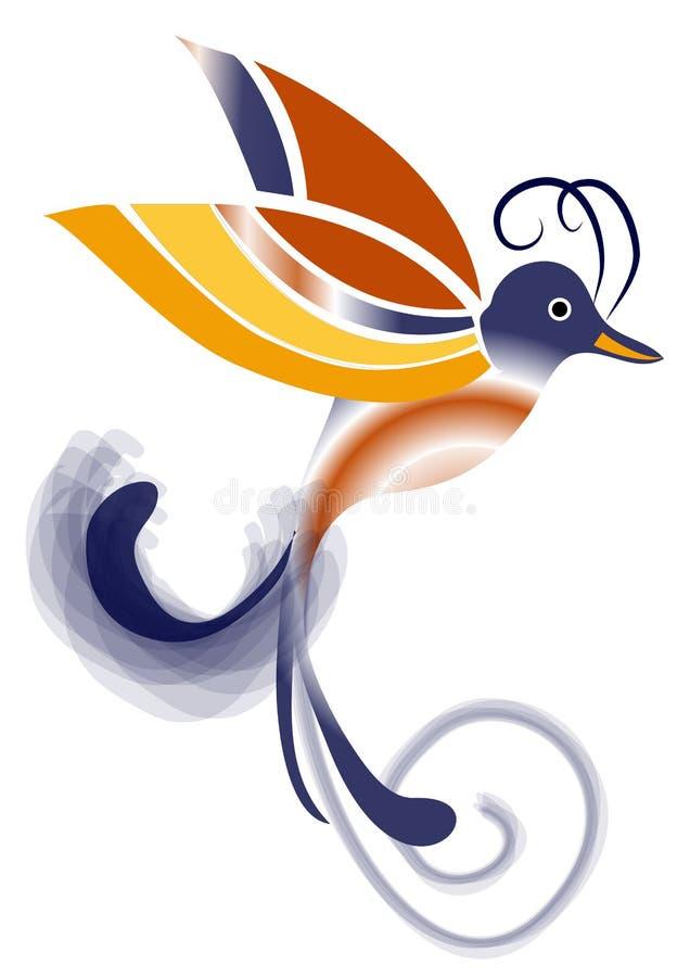 Free Exotic Bird Of Paradise - Blue And Orange Royalty Free Stock Photo - 34504165