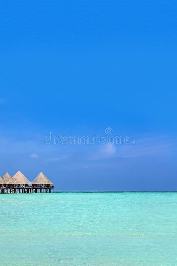 Free Exotic Bungalow At Green Lagoon Royalty Free Stock Images - 103185499