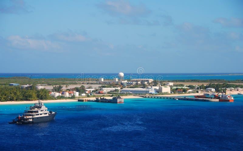 Exotic Caribbean island royalty free stock photos