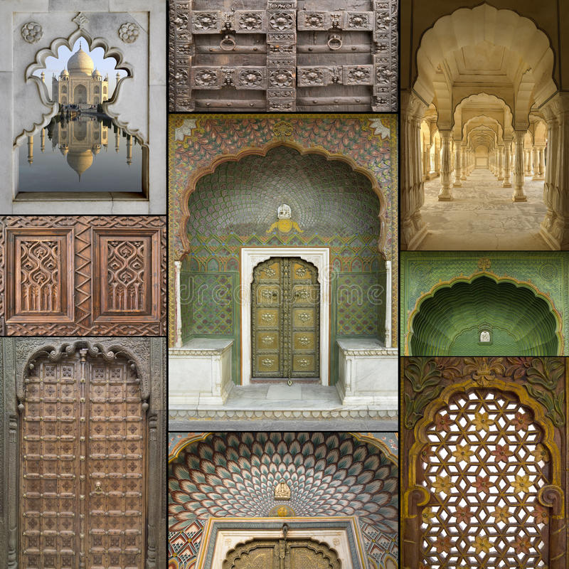 Collection of exotic eastern window and door designs  sc 1 st  Dreamstime.com & Exotic Eastern Windows \u0026 Doors Stock Image - Image of mahal carved ...