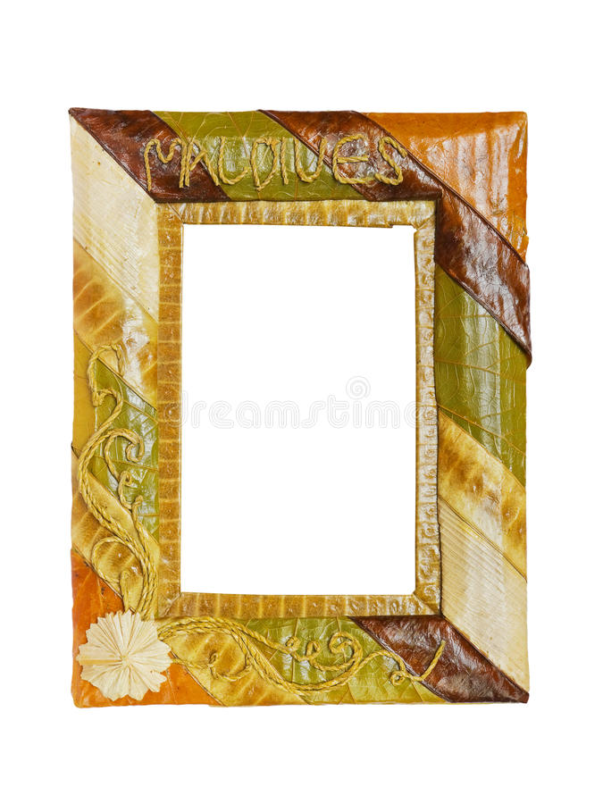 Exotic frame royalty free stock photo