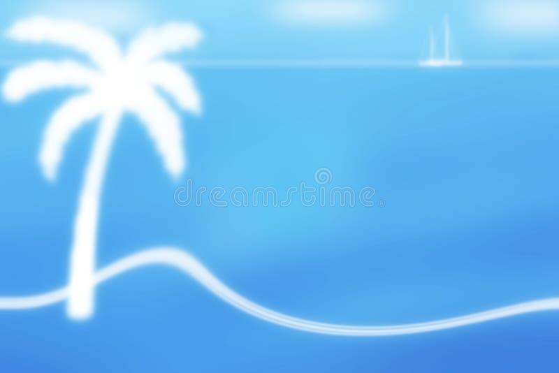 Download Exotic frame background stock illustration. Image of island - 23427628