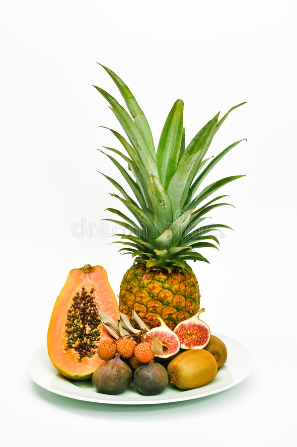 Download Exotic Fruits stock image. Image of figs, pineapples - 10965361