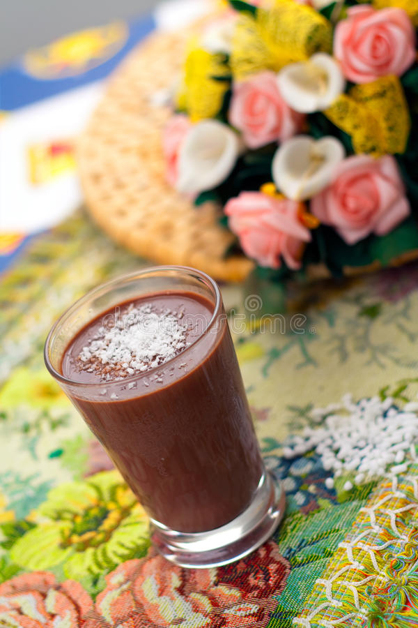 Exotic Hot Chocolate Royalty Free Stock Photography