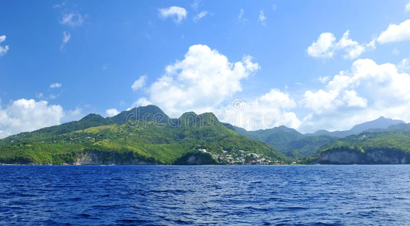 Exotic island stock photo