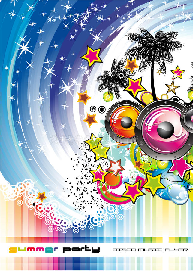 Download Exotic Music Disco Event stock vector. Illustration of exotic - 10461225