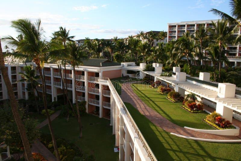 Exotic Resort stock image
