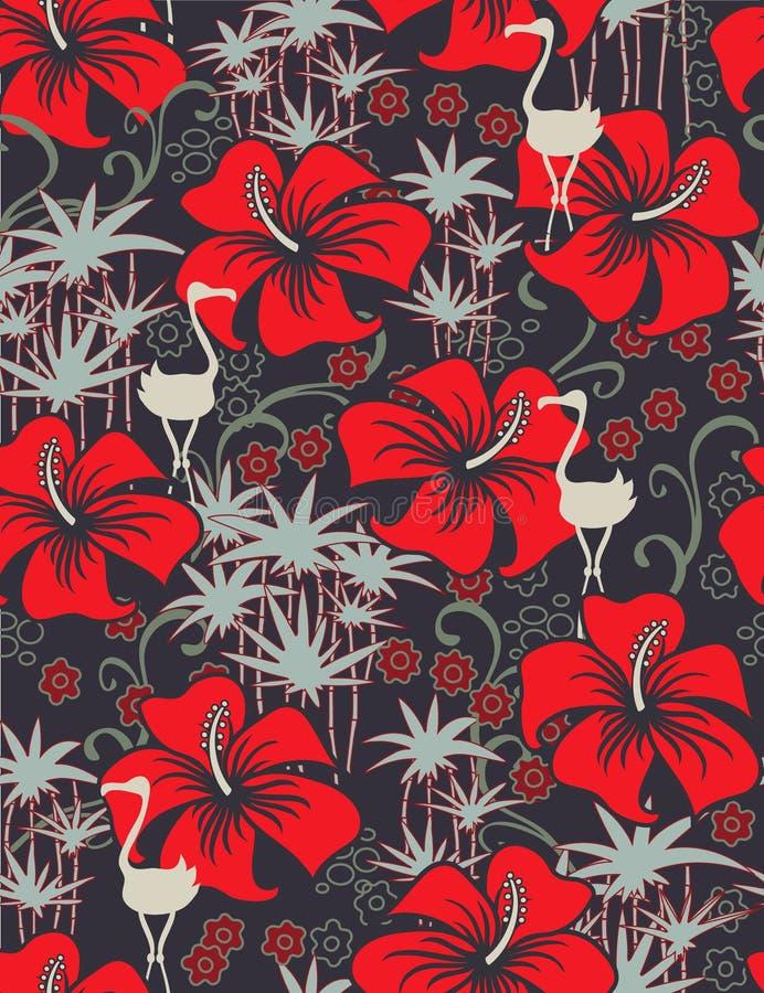 Exotic seamless pattern vector illustration