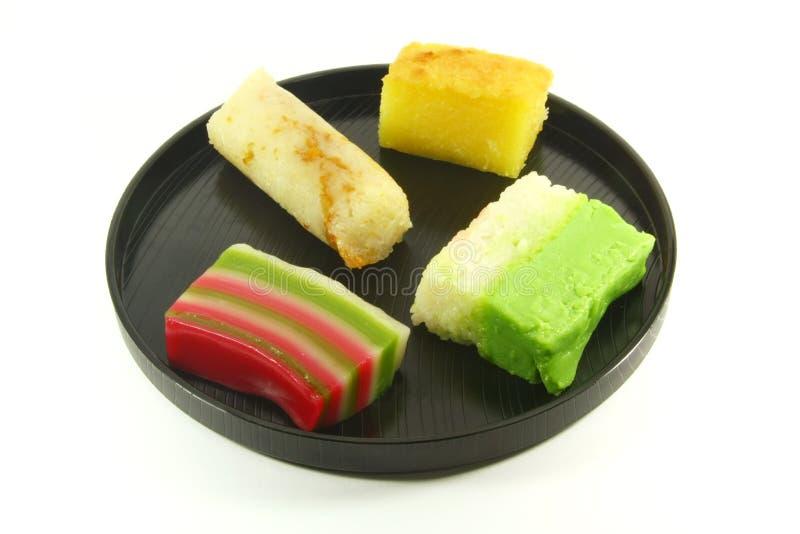 Exotic Small Cakes Stock Photos