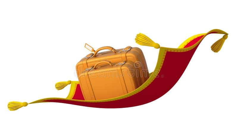 Exotic travel stock illustration