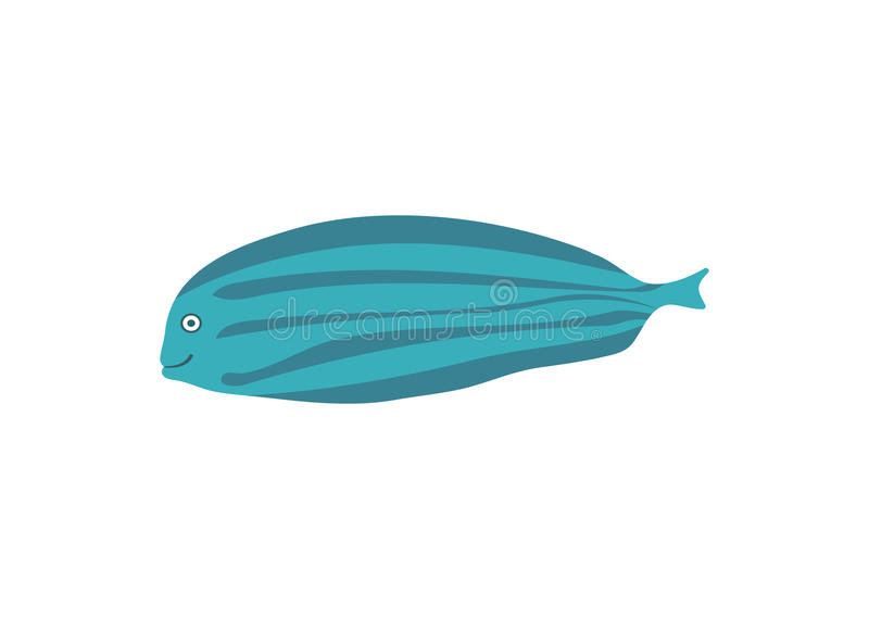 Exotic tropical fish cartoon vector illustration vector illustration