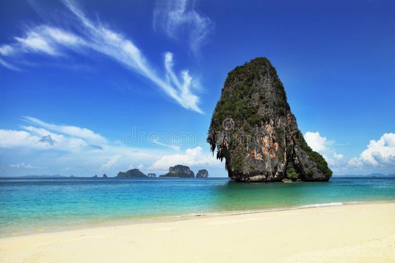 Exotisch landschap in Thailand royalty-vrije stock afbeelding