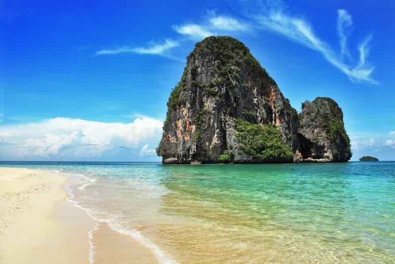 Exotisch landschap in Thailand stock fotografie