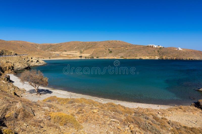 Exotisch strand stock afbeelding