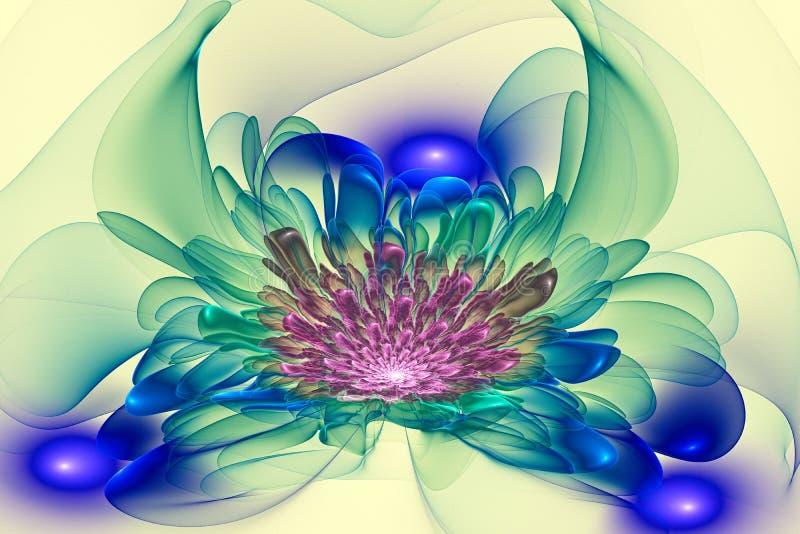 An Den Grenzen Der Wahrnehmung Blühen Fantastische Blumen