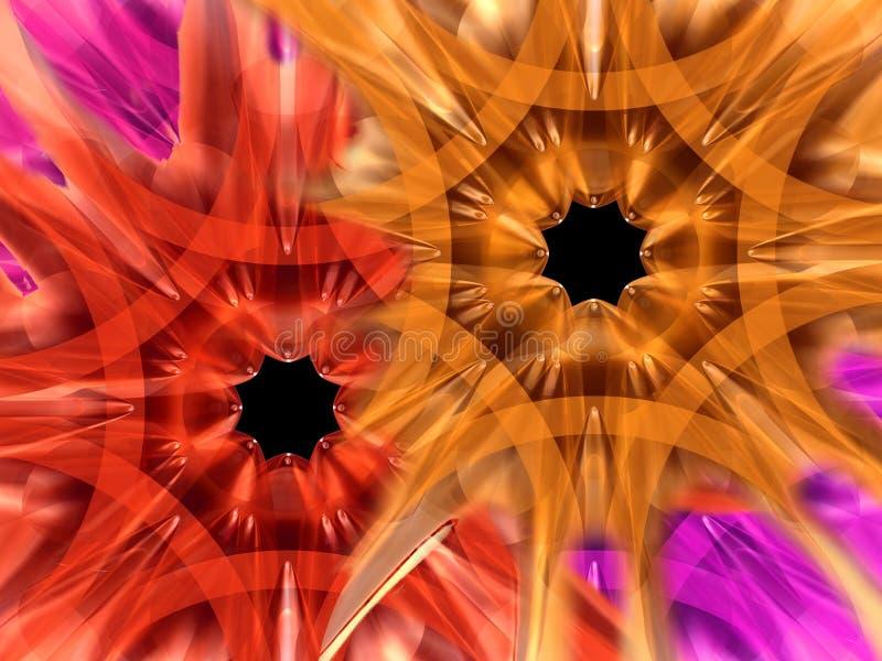 Exotische Blumen vektor abbildung