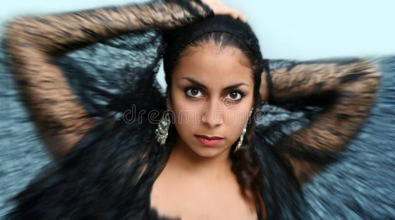 Exotische danser royalty-vrije stock foto's